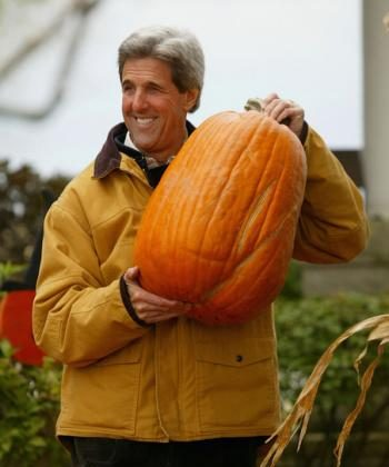 Pumpkins find their place even during political campaigns (Photo.com)