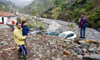 Heavy Flood and Mudslide Hits Portugal Island