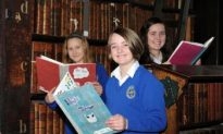 Children's Books Written by Kids Exhibited in Trinity College Dublin