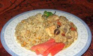 A Pakistani Meal