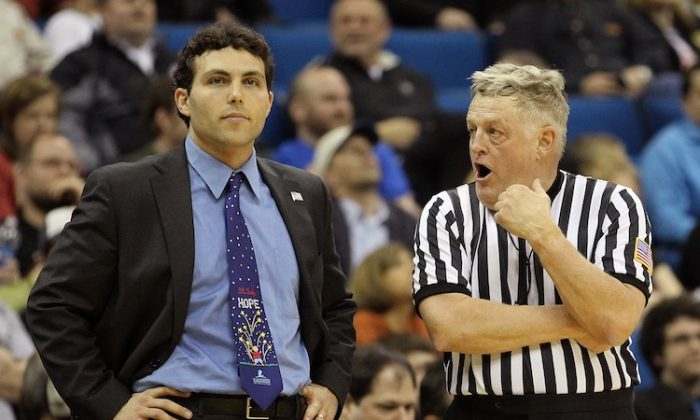 Memphis basketball coach Josh Pastner (L) will provide another good basketball program for the Big East. (Ronald Martinez/Getty Images)