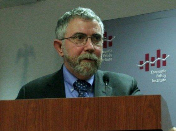 Professor Paul Krugman. (Gary Feuerberg/ The Epoch Times)