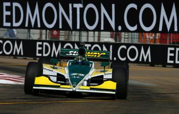 ChampCar veteran Paul Tracy got a ride with Vision Racing; he took fourth in his first drive in an IndyCar Dallara/Honda  (Gavin Lawrence/Getty Images)