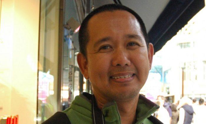 Rommel Mabunga, Manila, Philippines (The Epoch Times)