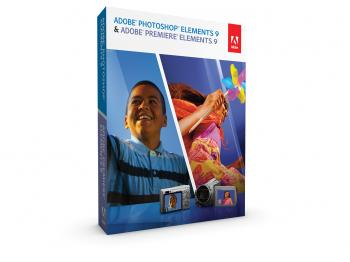 ELEMENTS: A box shot of Adobe Premier Elements 9 and Photoshop Elements 9 bundle.  (Courtesy of Adobe)