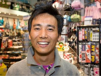 Phuntsok Tashi, Sales Person, Queens&#8212All the different cultures in New York. It is really interesting, we have people here from almost every religion and country over the world, trying to make it work. I find this really interesting.