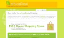 EthicalDeal Offering Discounts on Green Products and Services in Canada