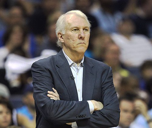 The Coach of the Year Award is the second for Popovich. Andy Lyons/Getty Images