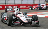 Power Fastest in St. Pete Indy Car Friday Practice