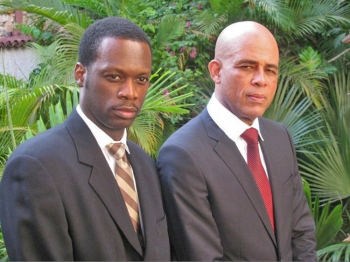 Pras Michel (L) and Michel Martelly (R) (Gomer Thomas)