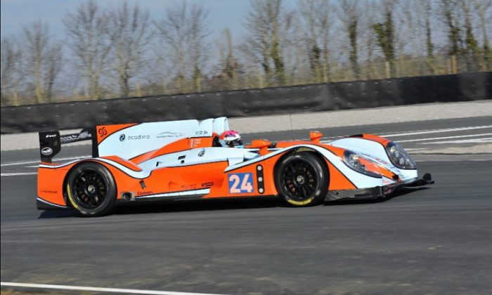 Oak Racing's LMP2 Morgan-Judd will be piloted by Olivier Pla, Matthieu Lahaye, and team owner Jacques Nicolet. (oak-racing.com)