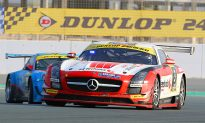 Dubai 24 Hours: Mercedes Rules With Two Hours to Go