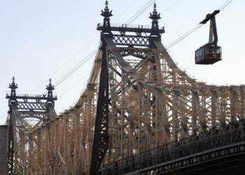 QUEENSBORO TO KOCH: The renaming of the Queensboro Bridge to the Edward I. Koch Bridge hangs on the pending decision of the City Council.  (Timothy A. Clary/Getty Images)