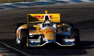 Castroneves, Hunter-Reay Fastest at IndyCar Sebring Test