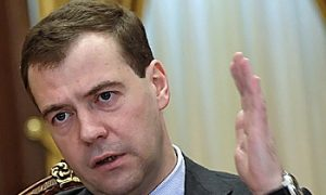 Medvedev Says Russian Sports Officials Should Resign Over Olympics