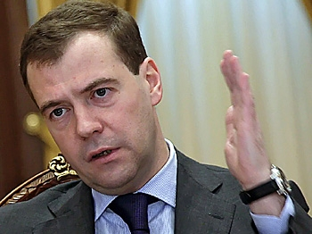 Russian President Dmitry Medvedev has called for officials in charge of preparing Russian athletes for the Winter Olympics to resign after the country suffered its worst-ever performance in Vancouver. (Dmitry Astakhov/AFP/Getty Images)