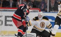 Rangers Three-Game Win Streak Ends with Recchi's Goal