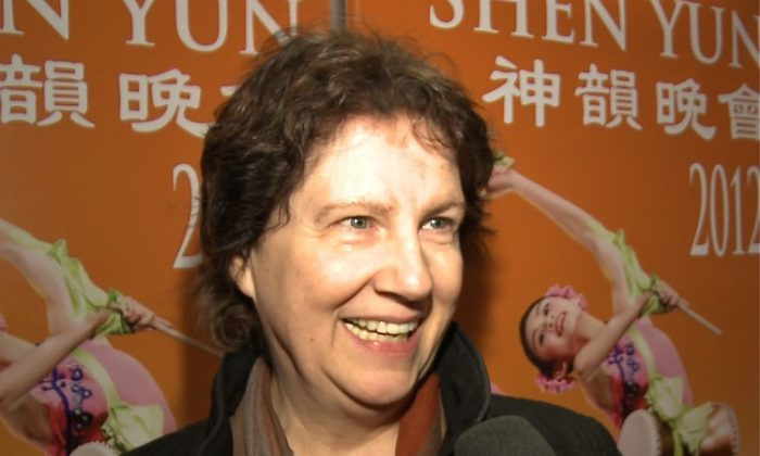 Regina Hackett saw Shen Yun Performing Arts at the Marion Oliver McCaw Hall on Feb. 7. (Courtesy of NTD Television)