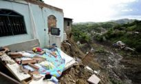 Landslide Buries 50 Homes in Rio