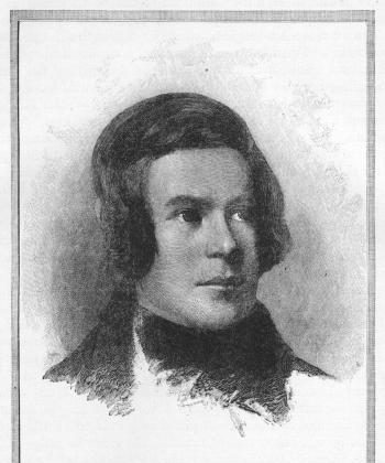 IN YOUTH: Young Robert Schumann. (Wikimedia Commons)