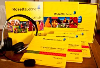 Rosetta Stone New USB Headset Microphone For Language-Learning Software