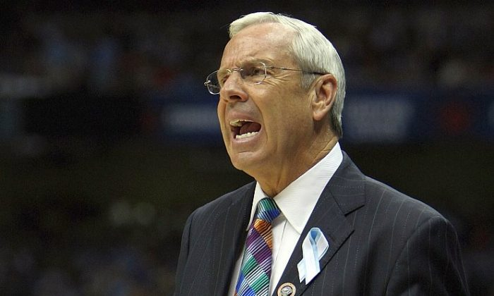 With another top-seed billing for Roy Williams's club in 2012, Williams now has 10 career No. 1 seed appearances in the NCAA tournament and has advanced to the Final Four in four of the previous nine times. (Jed Jacobsohn/Getty Images)