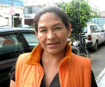 Paulia Alhuay, Lima, Peru.