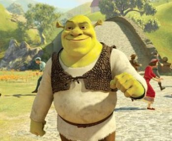 Pictured is the title character in the final installment of the animated film series 'Shrek.' (DreamWorks Animation)