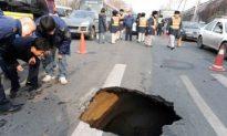 Sudden Sinkhole Outbreak Raises Fears in China