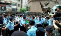 Hong Kong Police Confiscate Tiananmen Statues, Arrest Activists