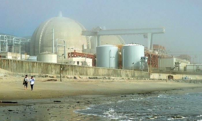 The San Onofre Nuclear Power Plant in north San Diego County, which provides much of Southern California its power, is seen in this March 2011 photo. California Sen. Barbara Boxer expressed concern over the plant's safety at a Senate committee hearing this week. (Mark Ralston/AFP/Getty Images)