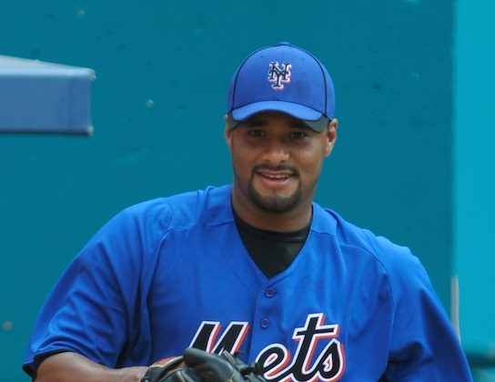 Johan Santana, who missed all of last year with injuries, is signed through 2013 for $49 million. (Sarah Glenn/Getty Images)