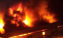 Fire Engulfs France's Schneider Electric Warehouse in Shanghai