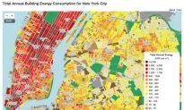 Columbia Releases NYC Energy Usage Map