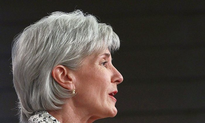HHS Secretary Kathleen Sebelius recently announced an ambitious series of national studies aimed at slowing the U.S. Alzheimer's epidemic. (Win McNamee/Getty Images)
