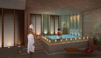 The tranquil spa room, a picture of relaxation and rejuvenation. (Photo courtesy of The Setai, NY.)