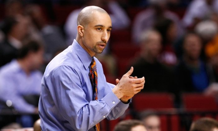 VCU Coach Shaka Smart is 84-28 in three years with the Rams. (Jonathan Ferrey/Getty Images)