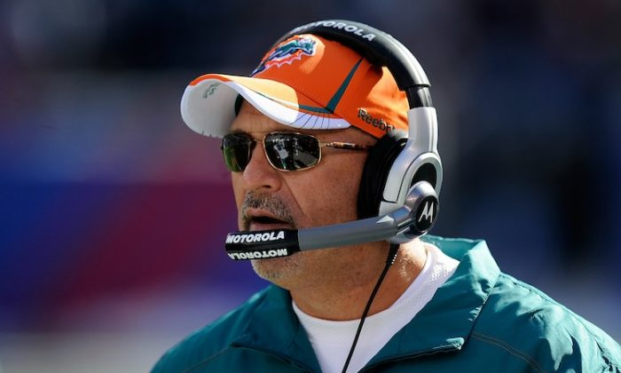Tony Sparano will take over as offensive coordinator for the New York Jets. (Patrick McDermott/Getty Images)