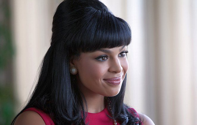 "Jordin Sparks in the drama ""Sparkle,"" a film about music prodigy Sparkle, played by Sparks, who struggles to become a star while overcoming familial issues. (Alicia Gbur/ Sony Pictures Entertainment Inc.)"