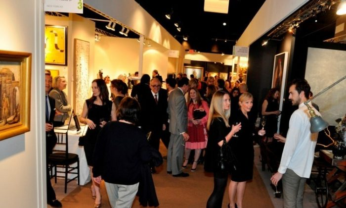 Guests at the second annual AADLA Spring Show NYC. (Photo by Annie Watt, Courtesy of AADLA)