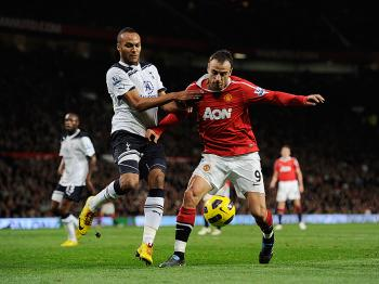 RIVALRY RENEWED: Manchester United faces a stiff test at Tottenham on Sunday. (Michael Regan/Getty Images)