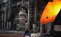 Chinese Steel Industry Suffers 23-fold Loss