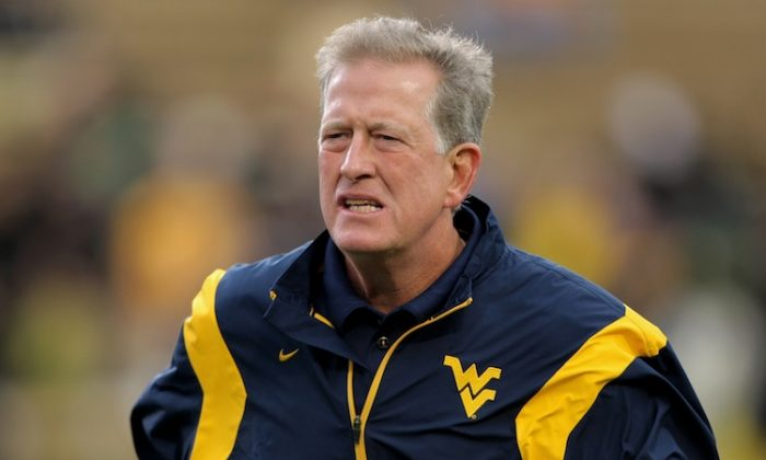 Bill Stewart went 28–12 at West Virginia. (Doug Pensinger/Getty Images)