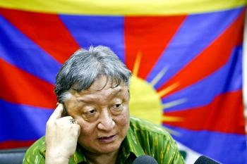 Special envoy of the Dalai Lama, Lodi Gyar. Tibetan envoys returned to India empty-handed on Feb. 1 after a ninth round of talks on Tibet's future with Chinese Communist Party (CCP) officials. (MANPREET ROMANA/AFP/Getty Images )