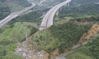 Taiwan Earthquake, Unrelated Landslide Causing Difficulties