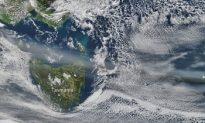 Volcanic Ash Grounds NZ, Australian Flights