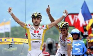 Piepoli Wins Stage Ten of the 2008 Tour de France