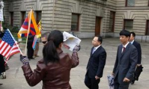 Chinese Pressure Portland Over Tibet Rally