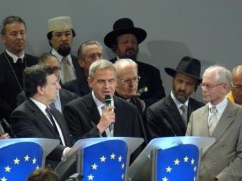 Mr. Laszlo Tokes Vice-President of European Parliamen (Yang Lixin/The Epoch Times)
