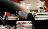 Blair's Memoirs Top Bookseller Charts